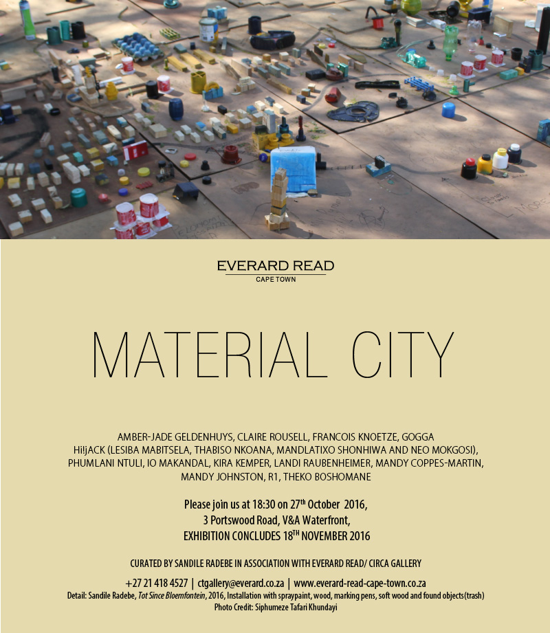 Material City - invitation